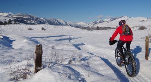 Fat Bike in Methow Valley